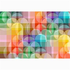 Circles Canvas 20  X 30  (unframed)