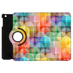 circles Apple iPad Mini Flip 360 Case
