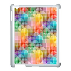 circles Apple iPad 3/4 Case (White)