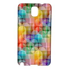 circles Samsung Galaxy Note 3 N9005 Hardshell Case
