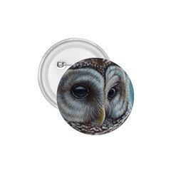 Barred Owl 1.75  Button