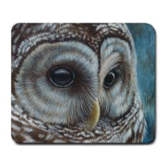 Barred Owl Large Mouse Pad (rectangle)