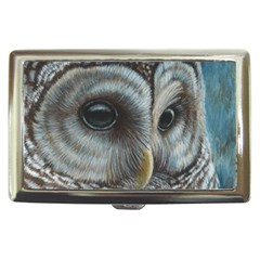 Barred Owl Cigarette Money Case