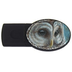 Barred Owl 2gb Usb Flash Drive (oval)