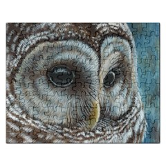 Barred Owl Jigsaw Puzzle (Rectangle)
