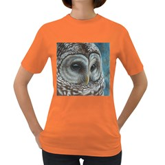 Barred Owl Women s T-shirt (Colored)