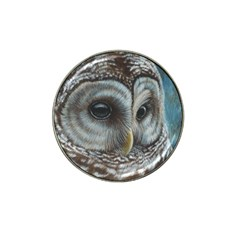 Barred Owl Golf Ball Marker 4 Pack (for Hat Clip)