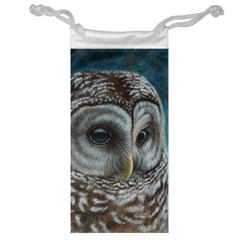 Barred Owl Jewelry Bag