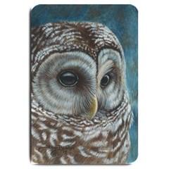 Barred Owl Large Door Mat