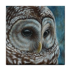 Barred Owl Face Towel