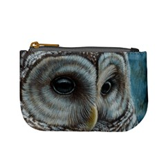 Barred Owl Coin Change Purse