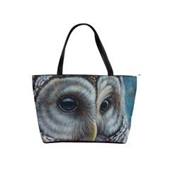 Barred Owl Large Shoulder Bag