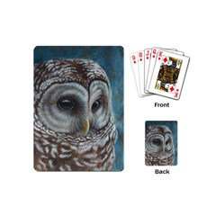 Barred Owl Playing Cards (mini)