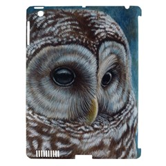 Barred Owl Apple iPad 3/4 Hardshell Case (Compatible with Smart Cover)