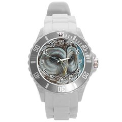 Barred Owl Plastic Sport Watch (Large)