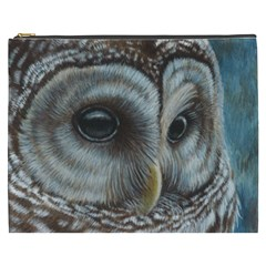Barred Owl Cosmetic Bag (XXXL)