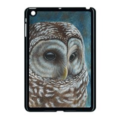 Barred Owl Apple iPad Mini Case (Black)