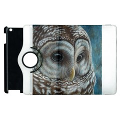 Barred Owl Apple Ipad 3/4 Flip 360 Case