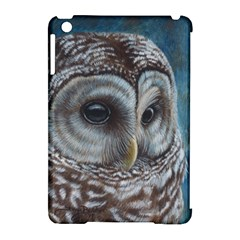 Barred Owl Apple Ipad Mini Hardshell Case (compatible With Smart Cover)