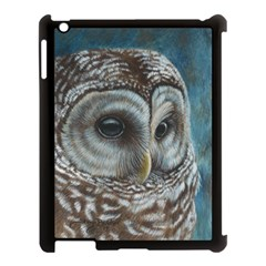 Barred Owl Apple Ipad 3/4 Case (black)