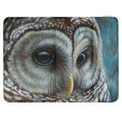 Barred Owl Samsung Galaxy Tab 7  P1000 Flip Case