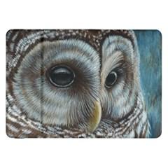 Barred Owl Samsung Galaxy Tab 8.9  P7300 Flip Case