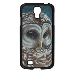 Barred Owl Samsung Galaxy S4 I9500/ I9505 Case (Black)