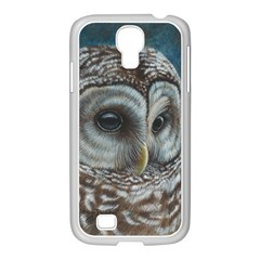 Barred Owl Samsung GALAXY S4 I9500/ I9505 Case (White)