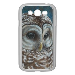 Barred Owl Samsung Galaxy Grand DUOS I9082 Case (White)