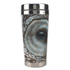 Barred Owl Stainless Steel Travel Tumbler