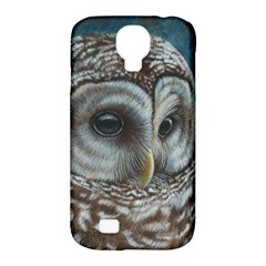 Barred Owl Samsung Galaxy S4 Classic Hardshell Case (PC+Silicone)