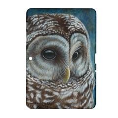 Barred Owl Samsung Galaxy Tab 2 (10.1 ) P5100 Hardshell Case