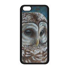 Barred Owl Apple iPhone 5C Seamless Case (Black)