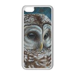 Barred Owl Apple iPhone 5C Seamless Case (White)