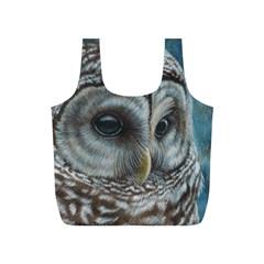 Barred Owl Reusable Bag (s)