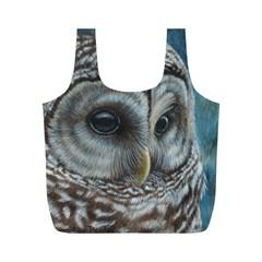 Barred Owl Reusable Bag (M)