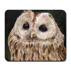 Tawny Owl Large Mouse Pad (rectangle)