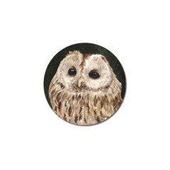 Tawny Owl Golf Ball Marker