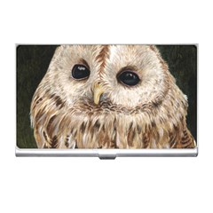 Tawny Owl Business Card Holder