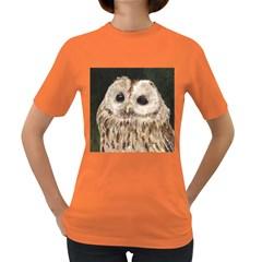 Tawny Owl Women s T-shirt (Colored)