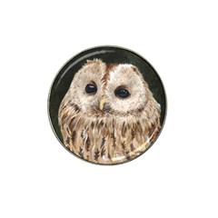 Tawny Owl Golf Ball Marker 4 Pack (for Hat Clip)