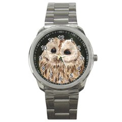 Tawny Owl Sport Metal Watch