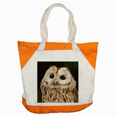 Tawny Owl Accent Tote Bag