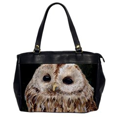 Tawny Owl Oversize Office Handbag (one Side)