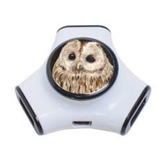 Tawny Owl 3 Port Usb Hub