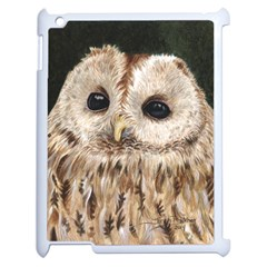 Tawny Owl Apple Ipad 2 Case (white)