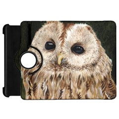 Tawny Owl Kindle Fire HD 7  (1st Gen) Flip 360 Case