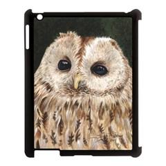 Tawny Owl Apple iPad 3/4 Case (Black)