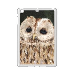 Tawny Owl Apple iPad Mini 2 Case (White)
