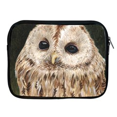Tawny Owl Apple Ipad Zippered Sleeve
